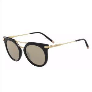 Calvin Klein CK1232S Sunglasses 002 Black Gold